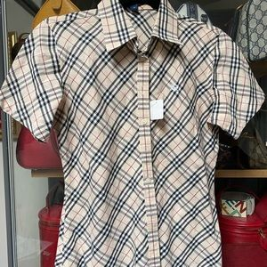 VTG Burberry shirt
